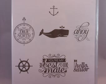 Hello, Sailor Rubber Stamp Set by Stampin'Up!