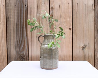 Ceramic Jug, Small Jug, Grey Jug, Ceramic Caraf, Vase