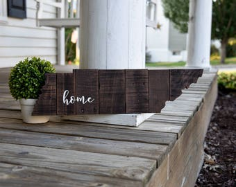 Tennessee pallet cut out.  Tennessee decor, Tennessee, Tennessee sign, Tennessee Wedding, Volunteer state, Tennessee cut out, housewarming