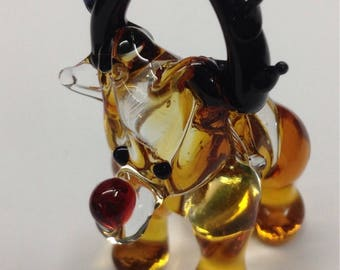 Glass Reindeer