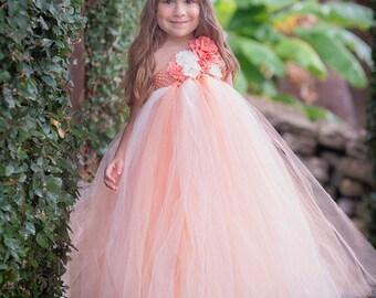 girls tutu dress wedding dress flower girl dress pageant
