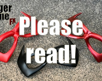 LOOKING FOR our face / eye MASKS? ---> order info - Please read the description of this listing! :)