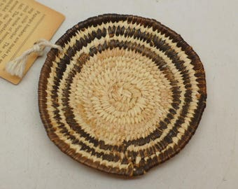 Vintage  Papago Basket - Miniature Papago Basket - Small Papago Basket - Native American Basket - Indian Basket