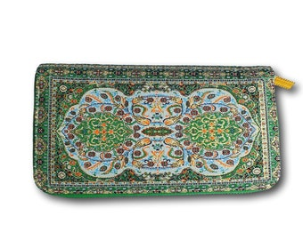 Travel wallet women, women's vegan wallet, women's boho wallet, women's bohemian wallet, women's tribal wallet, women's ethnic wallet,