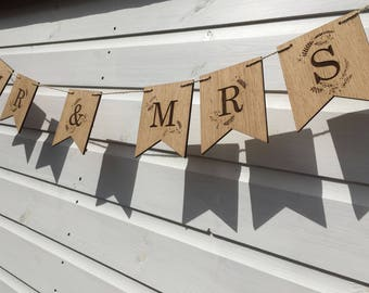 Mr & Mrs Bunting, Mr and Mrs Banner, Mr and Mrs Wooden Bunting