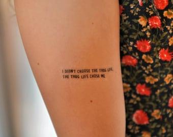 2pac Tattoo Etsy