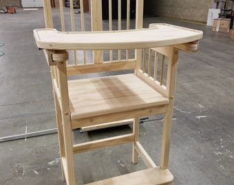 Adult baby highchair