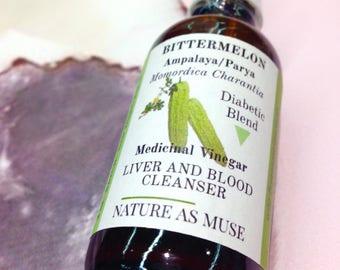 Organic Bittermelon Medicinal Vinegar Tincture