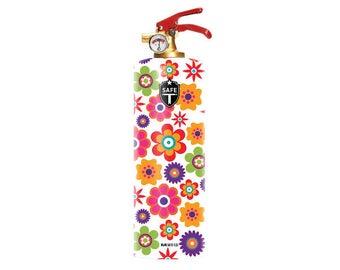 Designer Fire Extinguisher - FLOWERS