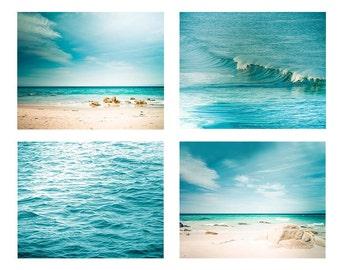 gallery wall prints ocean print coastal wall art photography set nautical decor beach art fine art photography teal home decor blue aqua