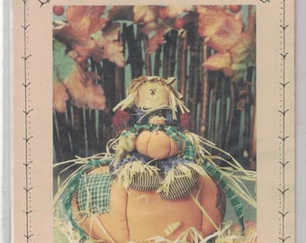 Punkin' Patch Jack # HS 25 by Homespun at Heart Designs ~~~ FREE Shipping in the USA