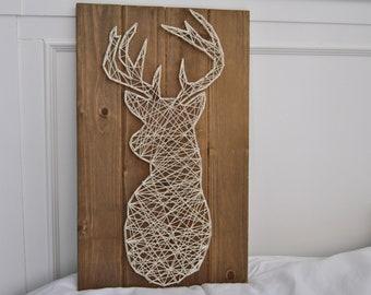 Buck Nail & String Art
