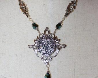 Celtic Ivy Necklace