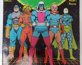 Justice League International #23 Jan 1989 VS. Injustice League DC Comics