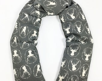 Cooling Heating Neck Wrap, Microwave Corn Neck Wrap, Antlers, Corn Bag
