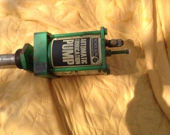 Nicholson Automatic Lubricating Pump