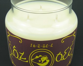 Legend of Zelda Majora's Mask Chateau Romani Milk Container Candle with Cork Lid