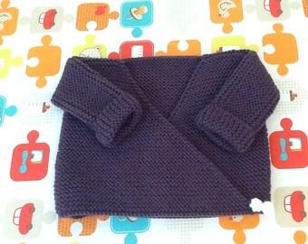 Life jacket vest knit baby gift newborn baby knitting wool baby wrap