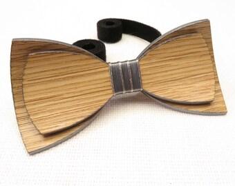 Beautiful Wood Bow Tie 0023