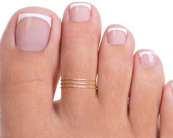 Gold Band Toe Ring, Gold Toe Ring, Band Toe Ring, Thin Band Toe Ring, Tiny Toe Ring, Thin Toe Ring, Tiny Gold Toe Ring, Thin Gold Toe Ring
