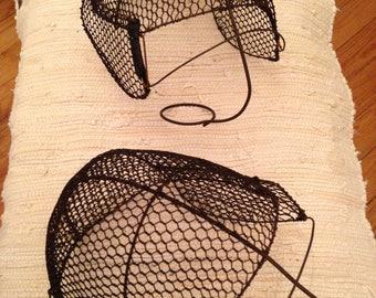 Fencing Masks/Helmets - Antique - Pair