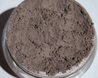 Neutral Matte Gray Eyeshadow |Smokey Gray | Loose Pigments | Cruelty-Free | Vegan Mineral Eye Shadow  - Gunmetal Smoke