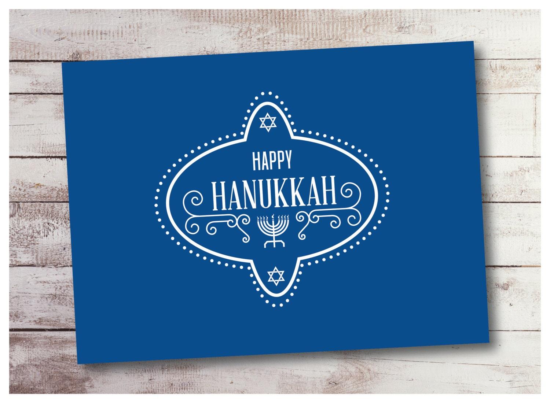 Hanukkah Instant Download Pantone Colors Card