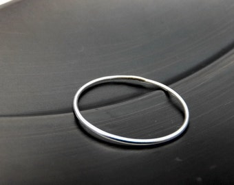 Barely There Sterling Silver Ring Band