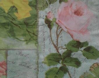 094 pink paper towel