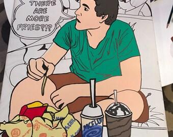 Customizable Pop / Comic Book Art Portrait
