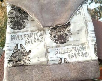Millennium Falcon Tablet, Mac Book, Suede, Cotton, Case, Star Wars, Han Solo,