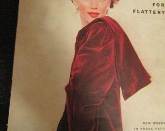 Sept 15, 1952 VOGUE MAGAZINE