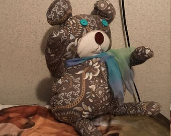 Handcrafted bear