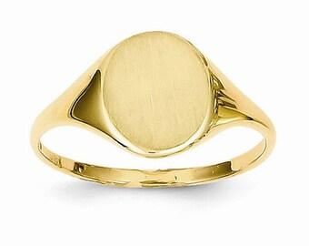 Circular Signet Ring (JC-1094)