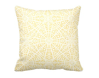 7 Sizes Available: Decorative Pillow Cover Throw Pillow Yellow Pillow Celtic Pillow Yellow Home Decor Celtic Home Decor Yellow Throw Pillow