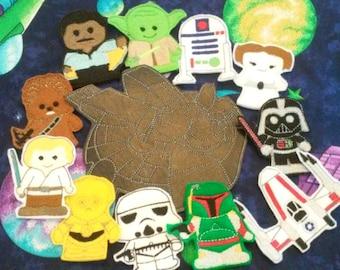 Star wars finger puppets set 1 of 2