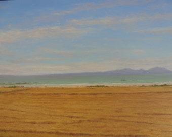 Maidens... Ayrshire ..Isle of Arran.....Scotland Oil Painting.