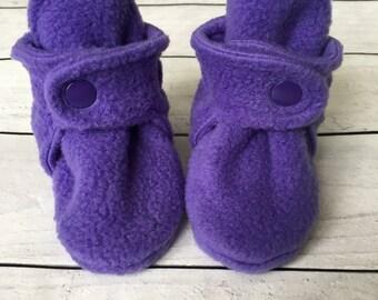 Fleece Baby Booties | Baby Booties | Fleece Baby Boots | Newborn Boots | Baby Shoes | Soft Baby Boots | Baby Shower Gift