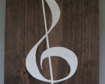 Small Treble Clef
