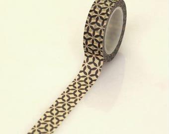 Masking tape with geometric - Washi tape geometric patterns