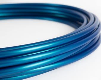 "NEW Blue Eclipse (color-shift) Polypro Custom Hoop 5/8"" & 3/4"""