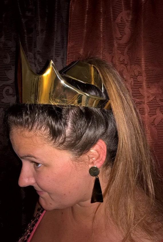 Disney Inspired Princess Jasmine Set Crown Earrings Hair