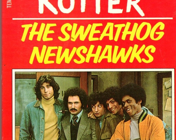1976 Welcome Back Kotter The Sweathog Newshawks Paperback #2 series TV Photo Cover John Travolta