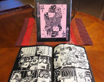 """Bunk #4: """"An Evening At the Imposium"""" Comic Art Zine"""