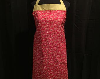 Adult Holiday Apron w/ Adjustable Straps