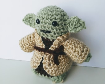 Yoda/ Star Wars Characters/ Crocheted Dolls