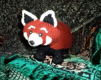 Cutest Anywhere Red Panda Knit Pattern