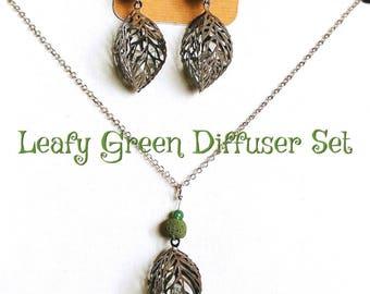 Leafy Green Diffuser Set