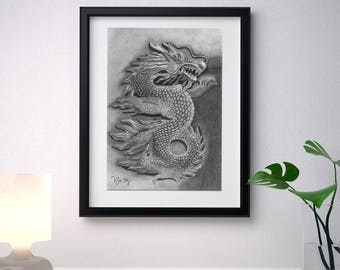 Dragon, Art Original and  Print Available