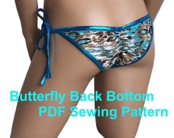 Butterfly Back Bottom (8 Sizes)